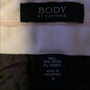 2 Victoria secret pants long size 4 long